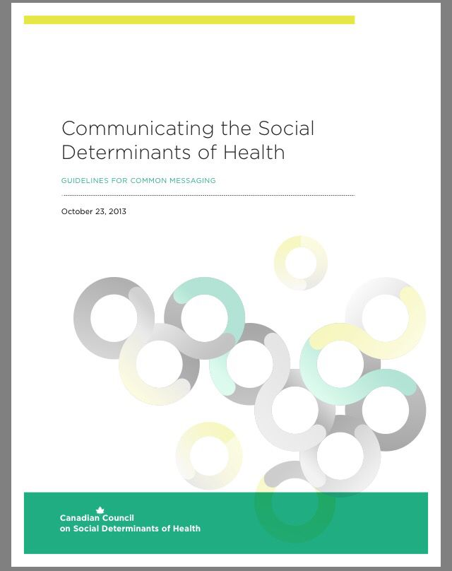 Communicating the social determinants of health