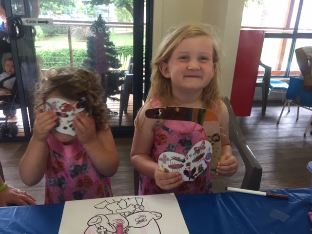 WOW! Gorgeous Craft Work Girls. We Love your beautiful masks.