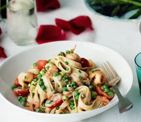 Smoked Salmon Fettucine. This pasta has amazing depth of flavours. #Woolworths #recipe #seafood http://www.woolworths.com.au/wps/wcm/connect/Website/Woolworths/FreshFoodIdeas/Recipes/Recipes-Content/smokedsalmonfettucine
