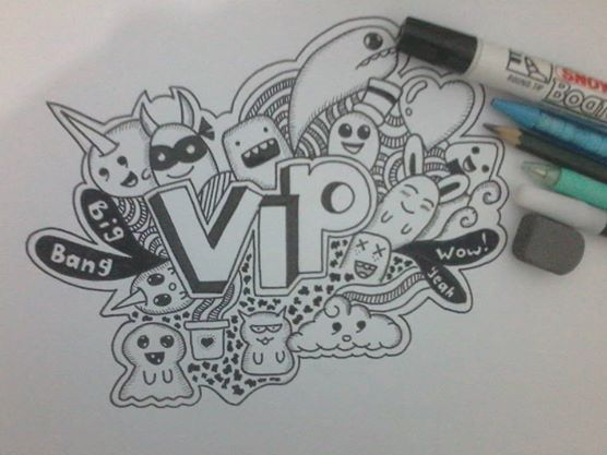 "VIP for BIGBANG ""My First Doodle. 2013"""