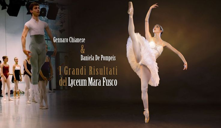 """Due """"perle"""" del Lyceum Mara Fusco tra pochi giorni prenderanno il volo per le grandi Accademie di danza Internazionali! Li salutiamo con un piccolo tributo.Una e' Daniela De Pompeis che, diplomatasi quest'anno nel ruolo di Nikya ne """"La Bayadere"""", ha vinto sia una borsa di studio alla Summer School del Royal Ballet e, cosa ancor più importante, e' entrata a far parte del corso di perfezionamento di un anno al Ballet Schule Theater Basel (BTB) di Basilea.L' altra è Gennaro Chianese che, app..."""