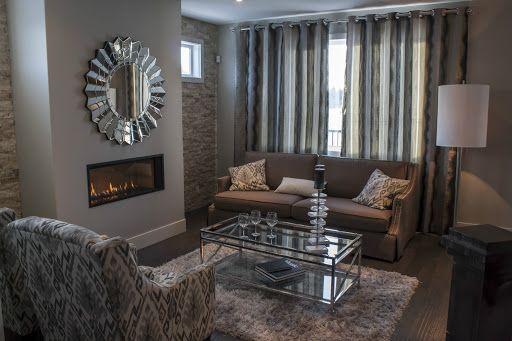 Warm inviting living room