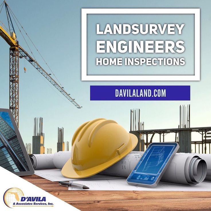 We have the best Land Survey and Home Inspection services of South Florida. Call us today! #davilaland #homeinspection #engineer #landsurveyors #miamirealestate #callus