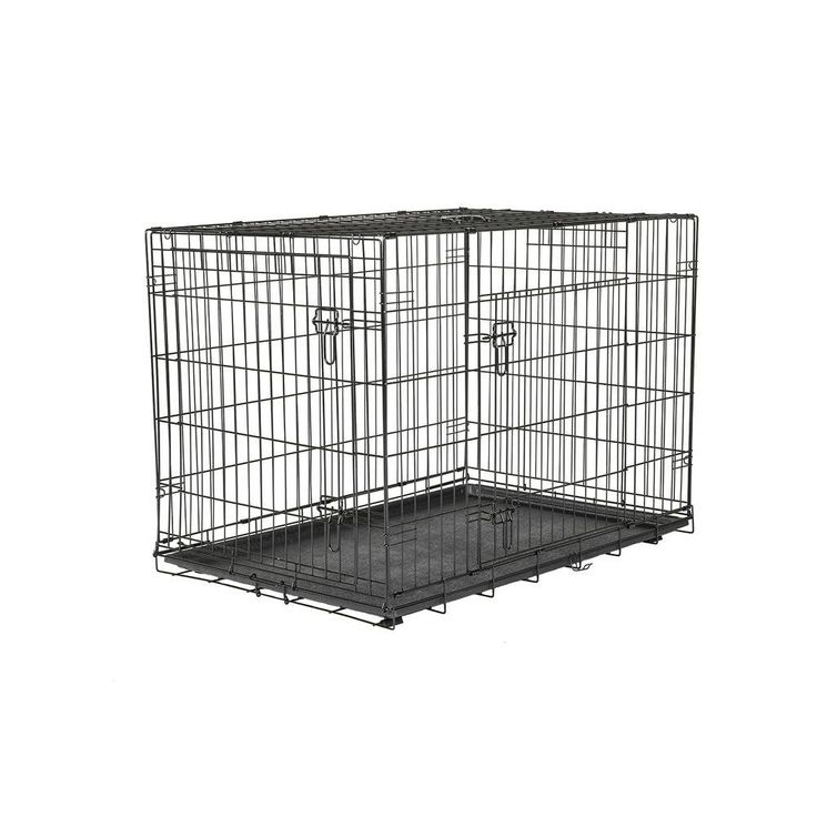 American Kennel Club 42 in. x 30 in. x 28 in. Large Wire Dog Crate