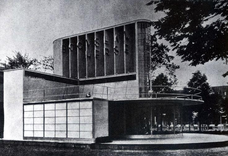 bogdan pniewski - hertze fashion pavilion, national exhibition, poznań, 1929