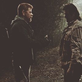 This scene made me tear up... I couldn't handle Eugene taking this suicide mission! #TheWalkingDead
