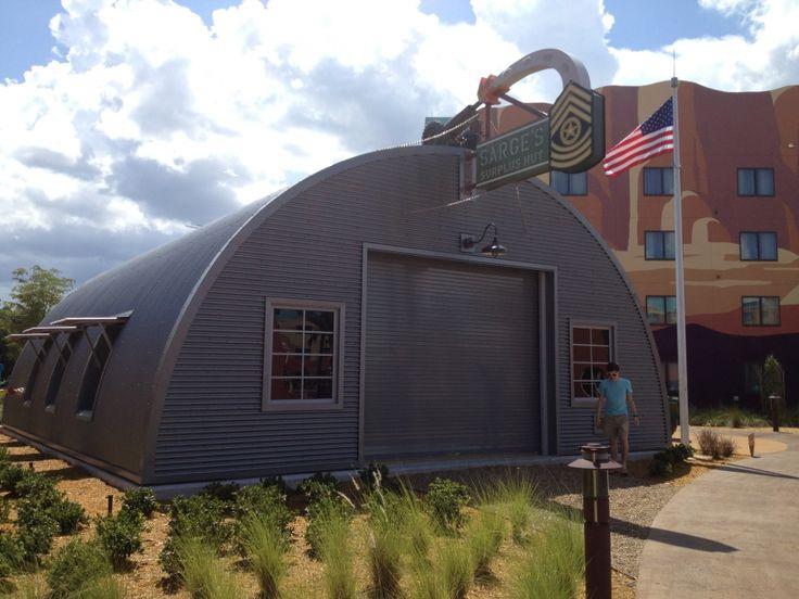 Modern quonset custom steel buildings custom designed for Modern quonset homes