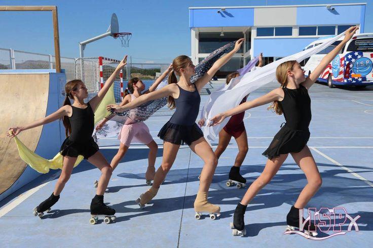 #patinaje #ClubPatinajeISP Desarrollando la #InteligenciaArtísticaISP