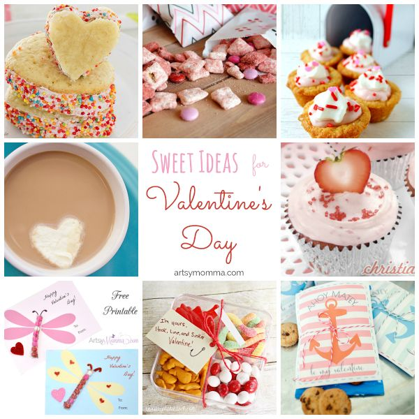 Looking for sweet snack ideas for Valentine's Day? Here are 38 of them including candy Valentines, red velvet ideas, cake pops, & more!