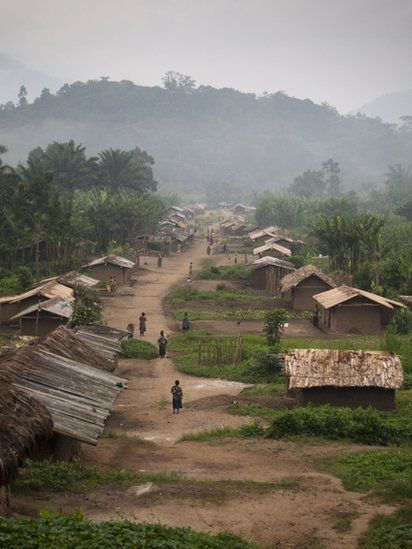 Luckweti village, north Kivu -DR CONGO...one of the many stops on my post-college travel