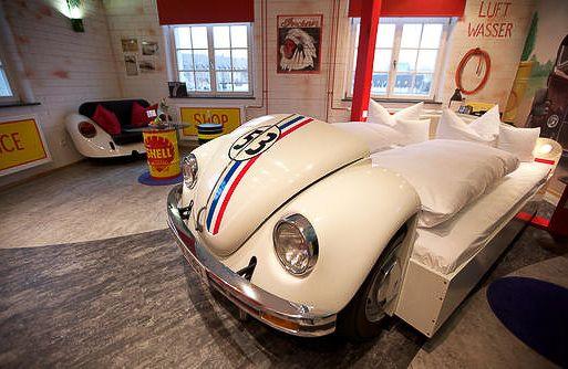 Herbie VW Love Bug Bed