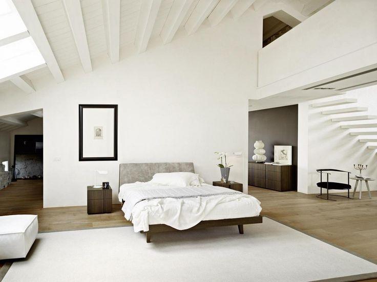 Das Schlafzimmer von Livitalia im klassischen schwarz-weiß ist - schlafzimmer schwarz weiß