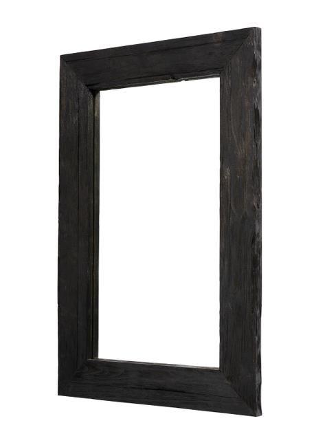 Mirror Black 60x90x3 cm
