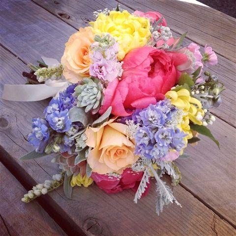 Super bright florals