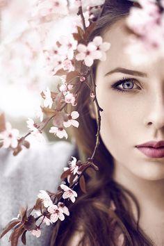 Portret w kwiatach