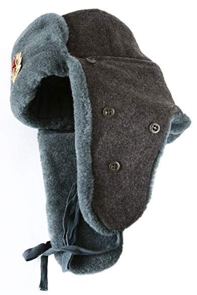 46cc84e231bc3 Arctic Circle Russian Military Ushanka Winter Hat Soviet Star Review ...