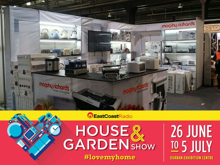 Morphy Richards at the 2015 East Coast Radio House & Garden Show