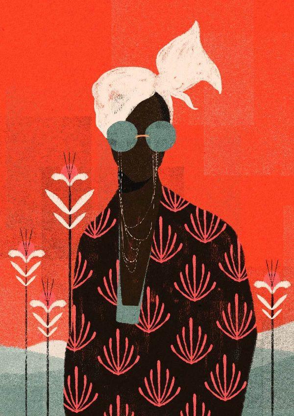FEATURE: Brazilian illustrator Willian Santiago draws inspiration from mid-century art - AFROPUNK