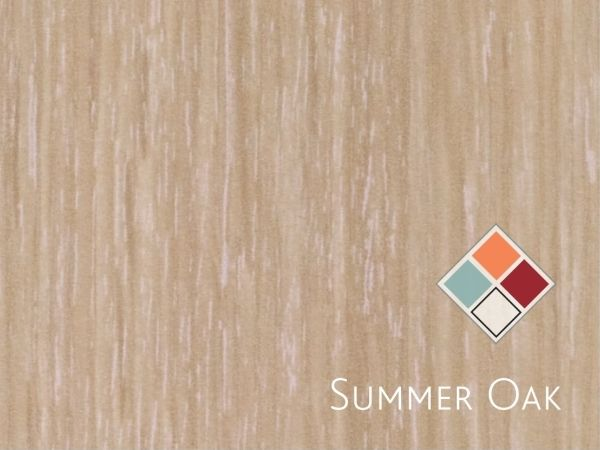 Summer Oak Melamine 2750 x 1830
