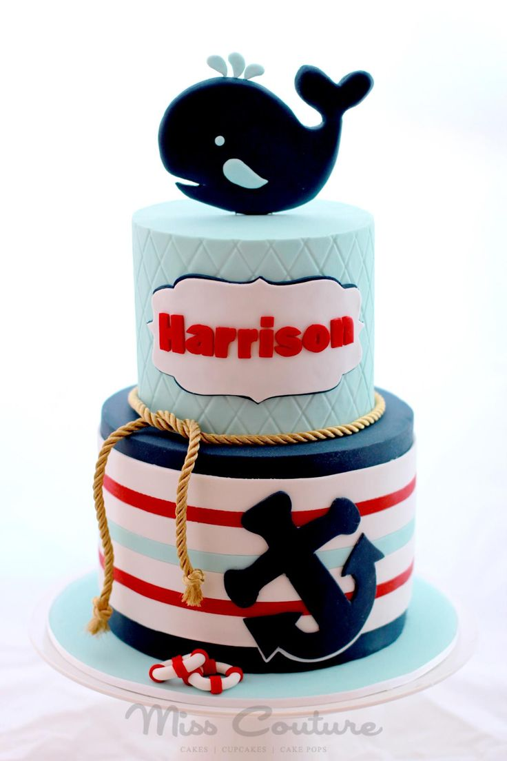 nautical birthday cakes nautical baby shower cakes nautical cake