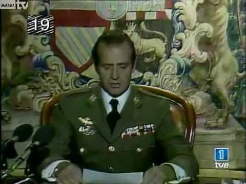 Toman el poder los militares, bueno.. o lo intentan, discurso del rey, un fenomeno ,,,,,