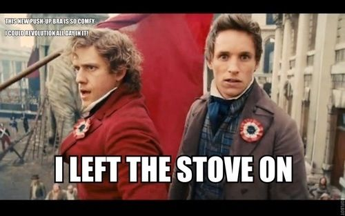 Les Miserable funny Don't miss the little caption in the corner XD