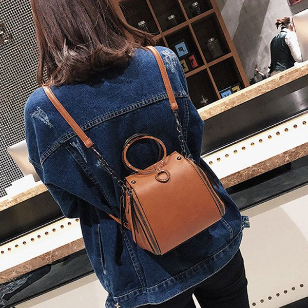 Hot-sale designer Women Vintage Fashion Cute Casual Shoulder Crossbody Bag Backpack Online - NewChic