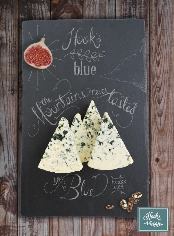 Hook's Blue by Adria Kaufman, via Behance