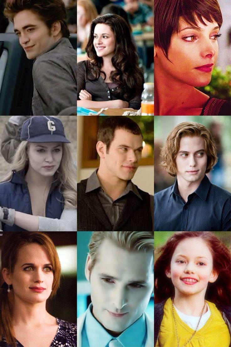 Cullens Edward Bella Alice Rosalie Emmett Jasper Esme Carlisle and Renesmee