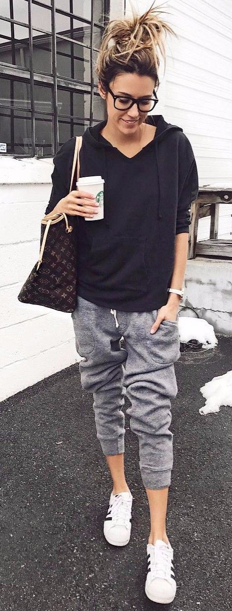 sporty outfit comfy look