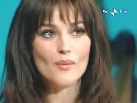 Monica Bellucci con Eros Ramazzotti  un Italiano Tv Show. YouTube
