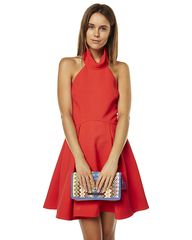 FINDERS KEEPERS SMOKE TRAILS WOMENS DRESS - RED on http://www.surfstitch.com