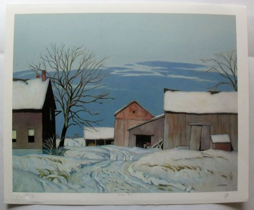 $424.99  Group OF Seven Signed Limited Edition Ontario Farm BY A J Casson | eBay