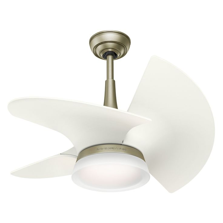 Casablanca 5913 30 in. Ceiling Fan with Light - The contemporary Casablanca 5913 30 in. Ceiling Fan with Light sports three short, but efficient blades in your choice of select color option. The...