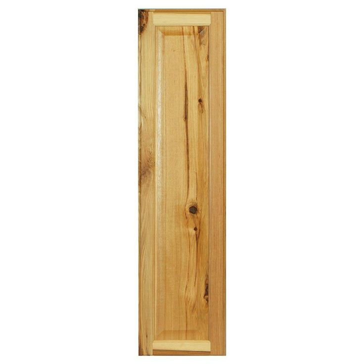 10x39.375x0.625 in. Hampton Decorative End Panel in Natural Hickory