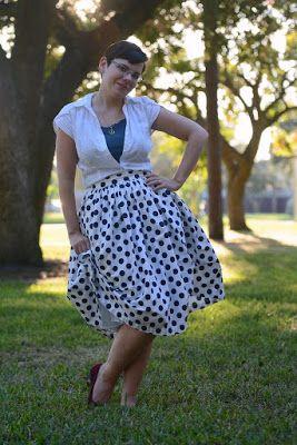 Polka Dot Do Over   The Girl with the Star-Spangled Heart: Polka Dot Do Over