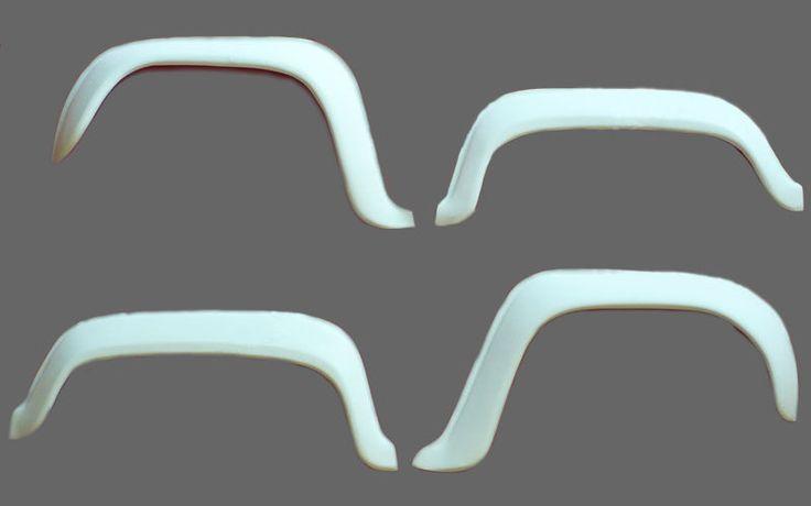 kit 4 cornici allargamento parafanghi originali Renault 4