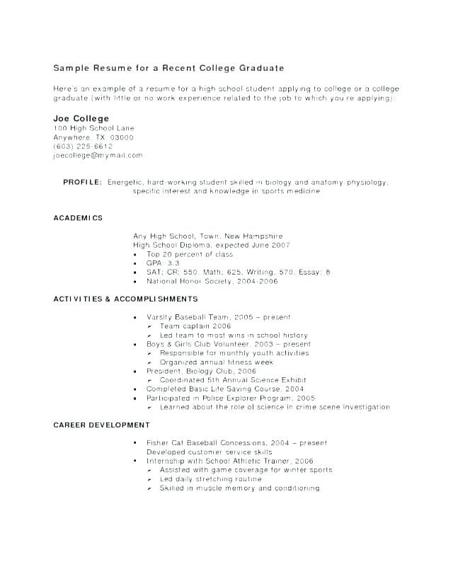 71 Luxury Photography Of Sample Resume For High School Student Seeking Internship High School Resume Student Resume Resume Examples