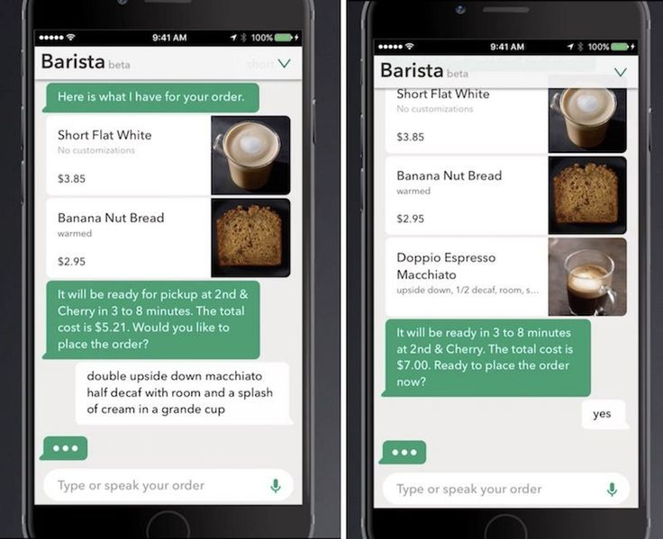 Starbucks Begins iOS Beta Test of Assistant That Can Take Coffee Orders Via Voice or Message