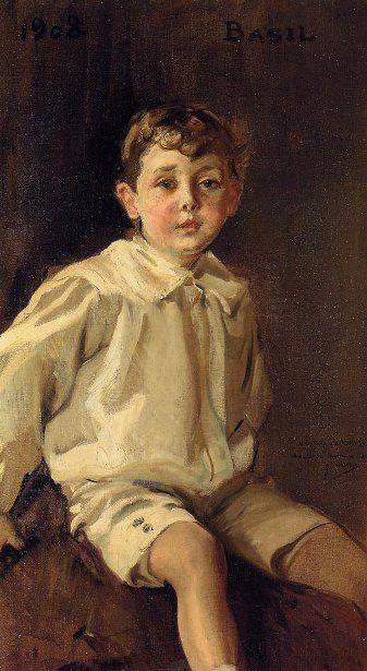 Joaquin Sorolla y Bastida (1863 – 1923, Spanish)   I AM A CHILD