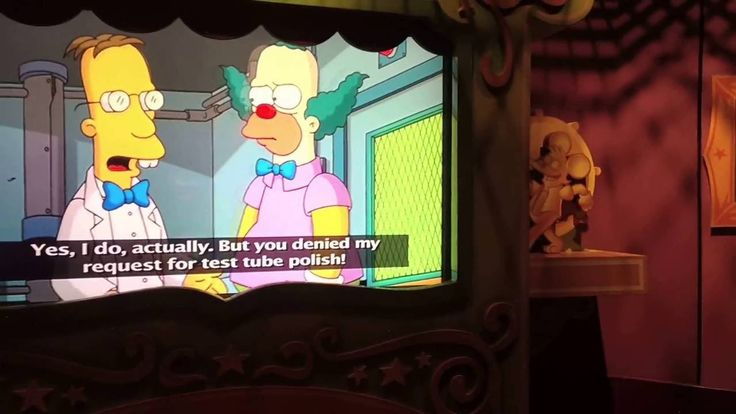 The Simpsons Ride at Universal Studious Orlando!!! This is The Simpsons Ride at universal Studious Orlando. These were filmed with pivot head glasses. There glasses with a camera in them.