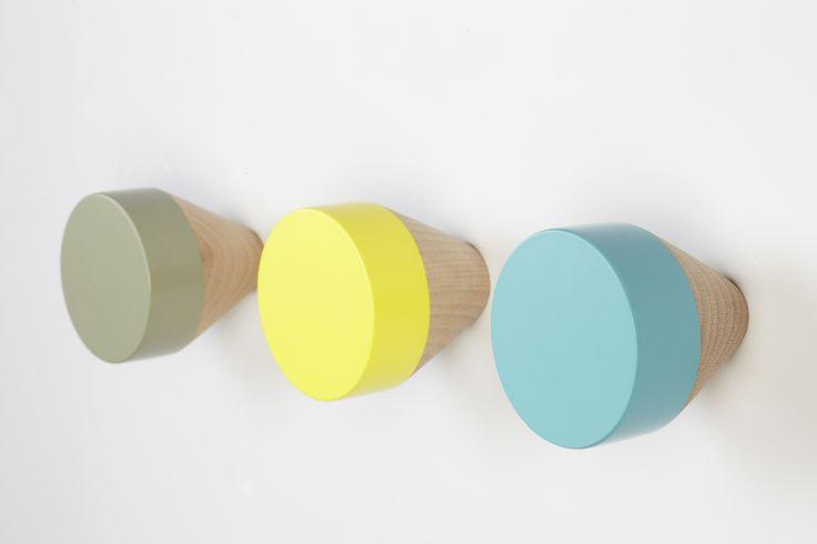 Eno Studio - Patères CLOU couleurs pastel