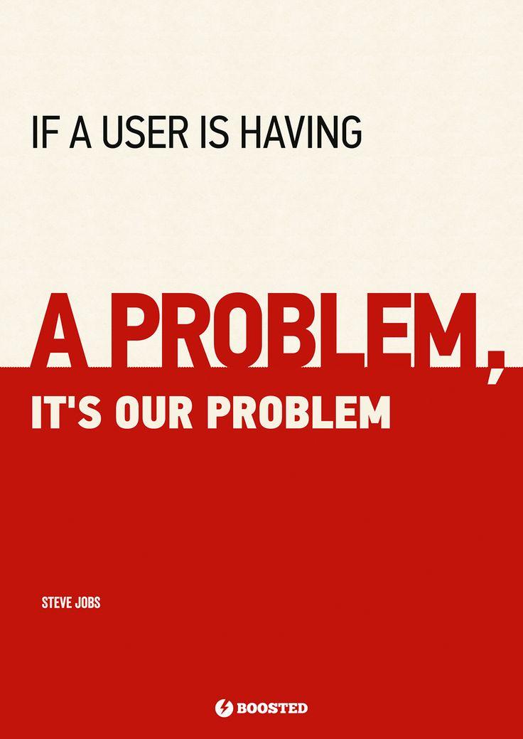 Motivační plakát Náš problém (Anglicky)