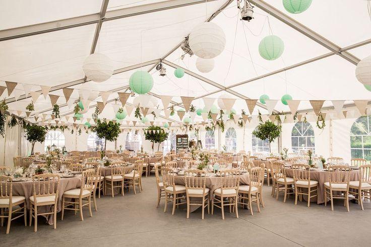 Décoration de mariage champêtre chic au Gensbourg
