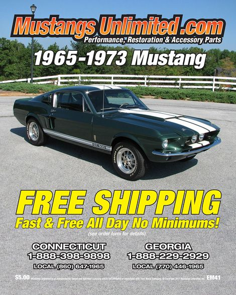 Mustangs Unlimited 65 73 Mustang Performance Restoration And Accessory Parts Online Virtual Catalog Spreadpages Cover