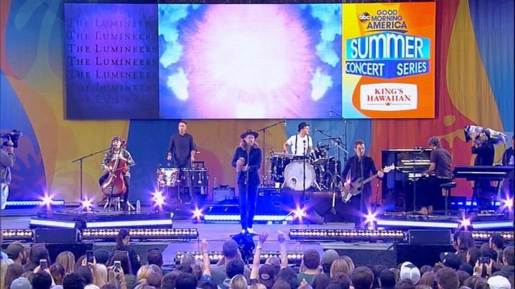 Now Playing: Green Day opens the 'GMA' Summer Concert series with 'Know Your Enemy'       Now Playing: The Chainsmokers perform 'Paris' live in Central Park       Now Playing: 'Rough Night' cast shares who they want at their bachelorette parties... - #GMA, #Jam, #Live, #Lumineers, #Ophelia, #TopStories, #Video