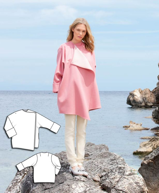 Oversized Coat #117AB http://www.burdastyle.com/pattern_store/patterns/oversized-coat-092015?utm_source=burdastyle.com&utm_medium=referral&utm_campaign=bs-meh-bl-150817-ClassicSeasideCollection117AB