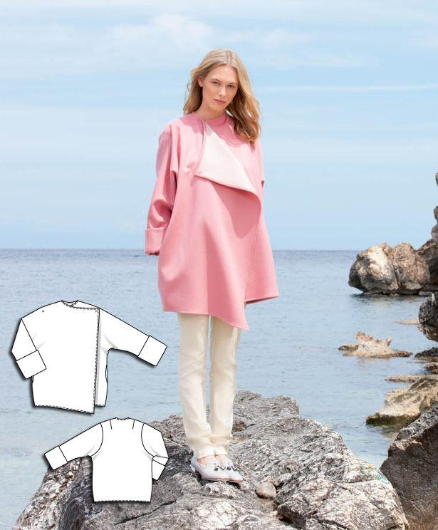 Oversized Coat #117AB http://www.burdastyle.com/pattern_store/patterns/oversized-coat-092015?utm_source=burdastyle.com&utm_medium=referral&utm_campaign=bs-meh-bl-150817-ClassicSeasideCollection117AB