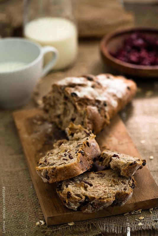 Home-Baked Sour Cherry Cake by Lumina