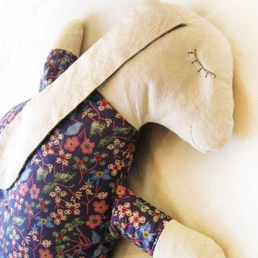 Sleepy Bunny Pillow (Подушка Сонная зайка)